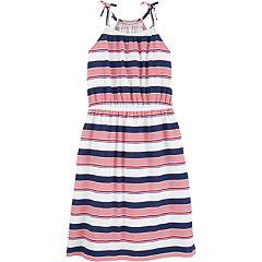 Girls 4-14 OshKosh B'gosh® Striped Patriotic Midi Dress