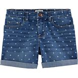 Girls 4-14 OshKosh B'gosh® Star Cuffed Denim Shorts