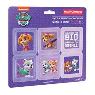 Magformers Paw Patrol 12-piece Skye and Friends Set