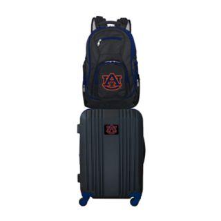 Auburn Tigers Wheeled Carry-On Luggage & Backpack Set