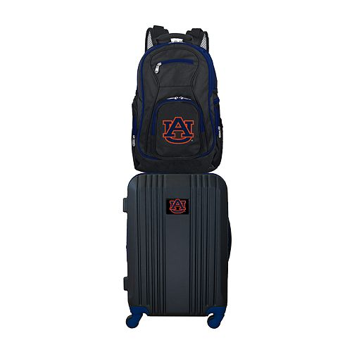 Auburn Tigers Wheeled Carry-On Luggage & Backpack Set