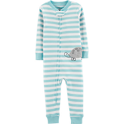 Toddler Boy Little Planet Organic by Carter's Striped Coverall