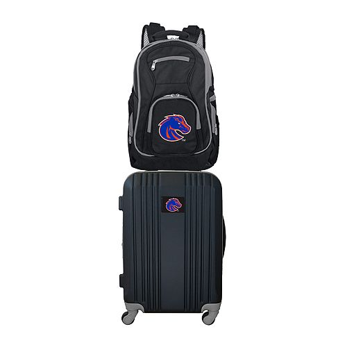 Boise State Broncos Wheeled Carry-On Luggage & Backpack Set