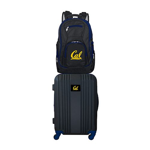 Cal Golden Bears Wheeled Carry-On Luggage & Backpack Set