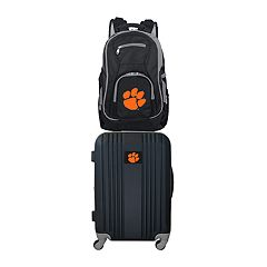 093fa8f9faf5 Clemson Tigers Wheeled Carry-On Luggage   Backpack Set