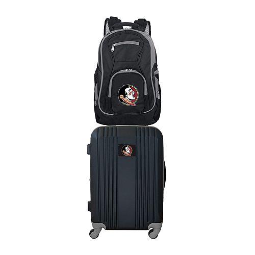 Florida State Seminoles Wheeled Carry-On Luggage & Backpack Set