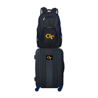 Georgia Tech Yellow Jackets Wheeled Carry-On Luggage & Backpack Set