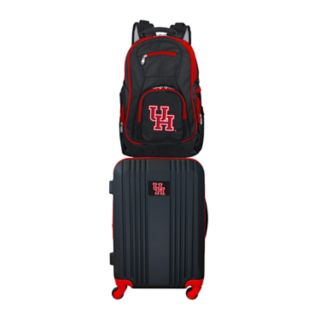 Houston Cougars Wheeled Carry-On Luggage & Backpack Set