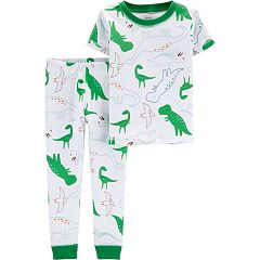 Baby Boy Little Planet Organic Dinosaur Tee & Pants Pajama Set