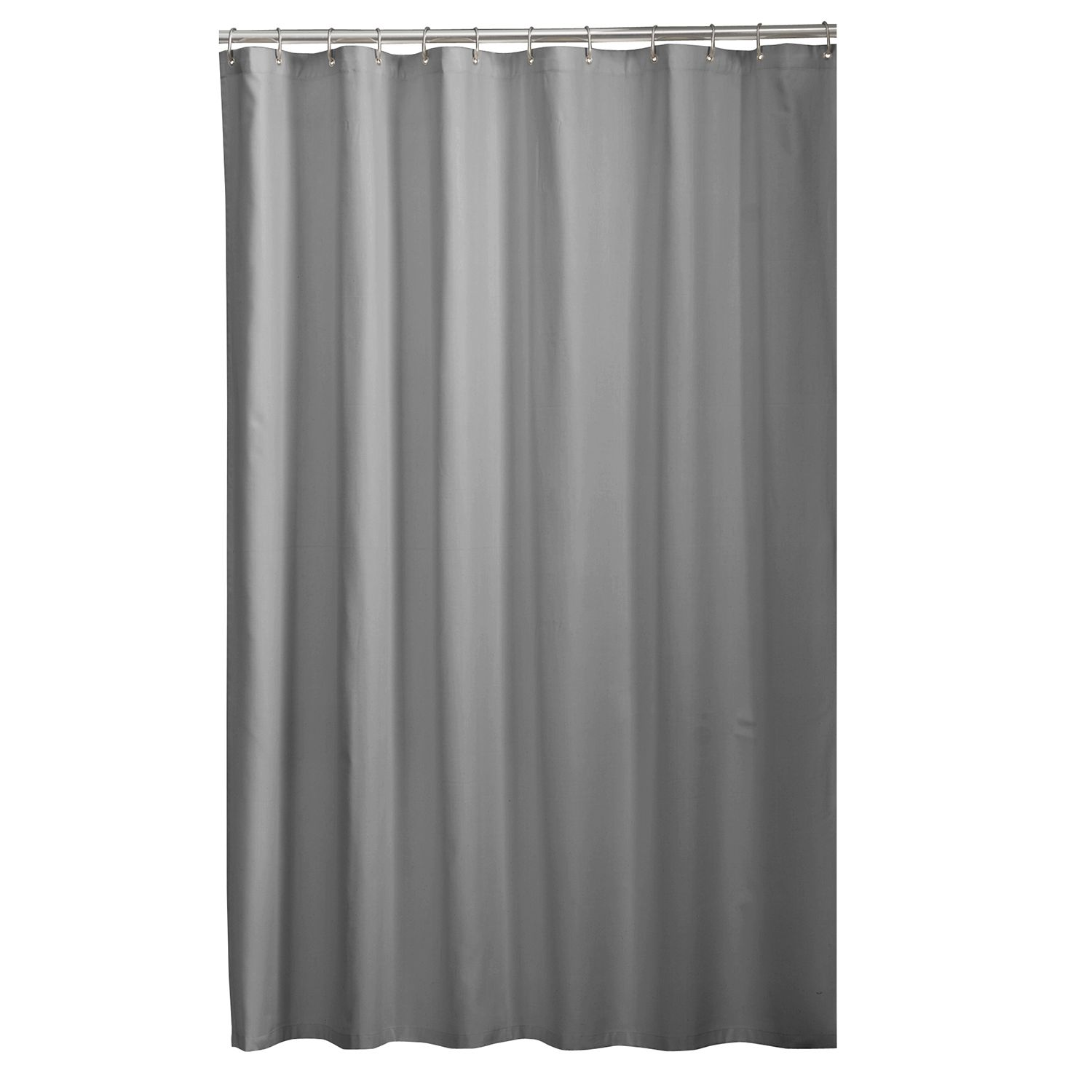 SONOMA Goods For Life™ Light Weight Fabric Shower Curtain Liner. Gray White  Ivory