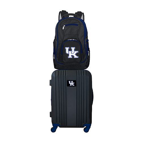 Kentucky Wildcats Wheeled Carry-On Luggage & Backpack Set