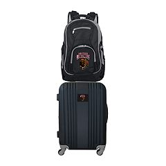 Montana Grizzlies Wheeled Carry-On Luggage & Backpack Set