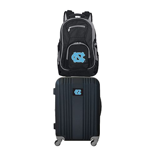 North Carolina Tar Heels Wheeled Carry-On Luggage & Backpack Set
