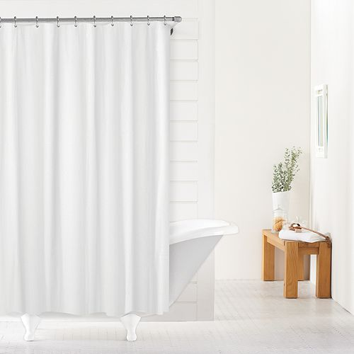SONOMA Goods For LifeTM Heavy Weight Fabric Shower Curtain Liner