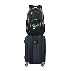 South Florida Bulls Wheeled Carry-On Luggage & Backpack Set