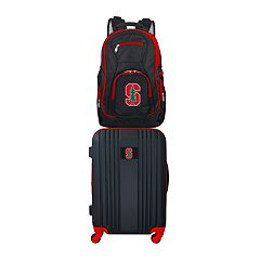 Stanford Cardinal Wheeled Carry-On Luggage & Backpack Set