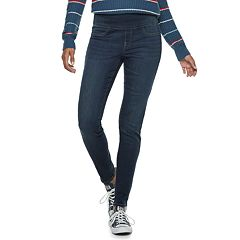 Juniors' SO® Pull-On Mid-Rise Jeggings