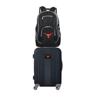Texas Longhorns Wheeled Carry-On Luggage & Backpack Set