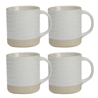 Certified International Artisan 4-piece Mug Set