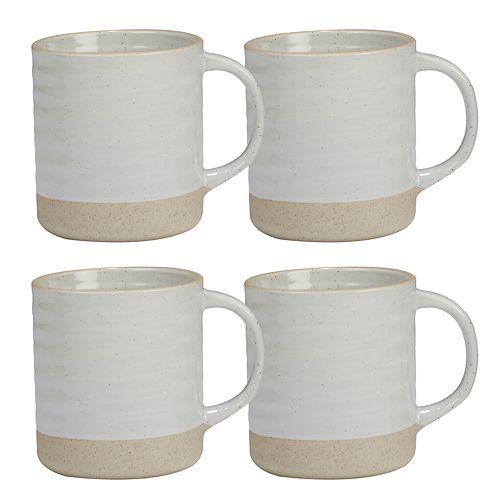 Certified International Artisan 4-piece Mug Set