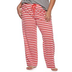 Plus Size SO® Printed Pajama Pants
