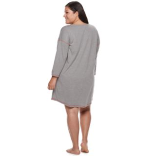Plus Size SO® Graphic Holiday Sleepshirt