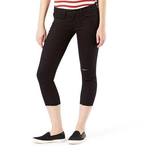 Juniors' DENIZEN from Levi's Low Rise Slim Crop Jeans