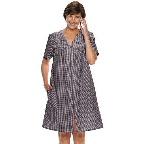 Women's Croft & Barrow® Seersucker Duster Robe
