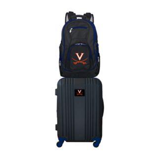 Virginia Cavaliers Wheeled Carry-On Luggage & Backpack Set