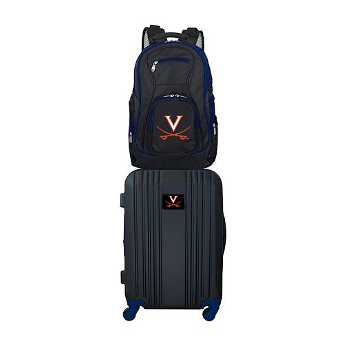 Virginia Cavaliers Wheeled Carry-On Luggage & Backpack Set