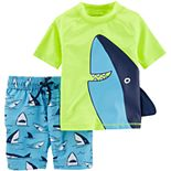 Baby Boy Carter's Shark 2-Piece Rashguard