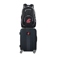 Washington State Cougars Wheeled Carry-On Luggage & Backpack Set