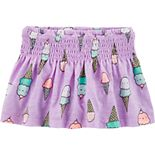 Baby Girl Carter's Ice Cream Skort