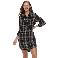 Juniors' SO® Utility Shirtdress