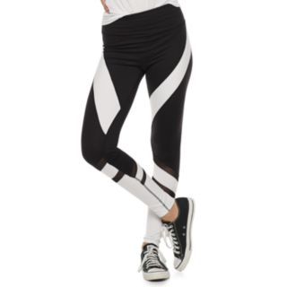 Juniors' SO® High-Waisted Colorblock Yoga Leggings