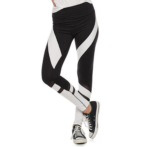 Juniors' SO® High-Waisted Colorblock Yoga Leggings
