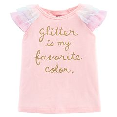 Baby Girl Carter's 'Glitter Is My Favorite Color' Tee