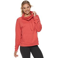 Juniors' SO® Fleece Cowlneck Sweatshirt