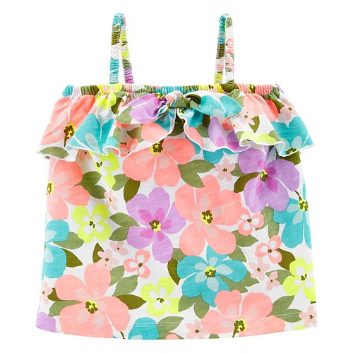 Baby Girl Carter's Floral Tank Top