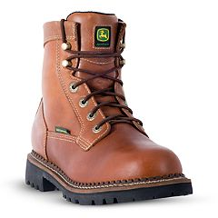 John Deere Logger Men's Waterproof Steel Toe Work Boots