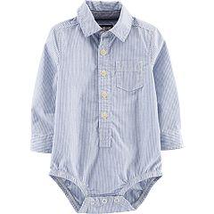 Baby Boy OshKosh B'gosh® Striped Pocket Bodysuit