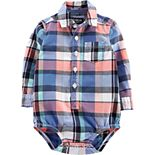 Baby Boy OshKosh B'gosh® Plaid Pocket Bodysuit