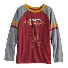 Boys 4-12 Jumping Beans® Retro Marvel Spider-Man Raglan Graphic Tee