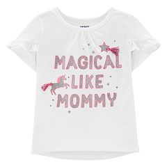 Baby Girl Carter's 'Magical Like Mommy' Graphic Tee