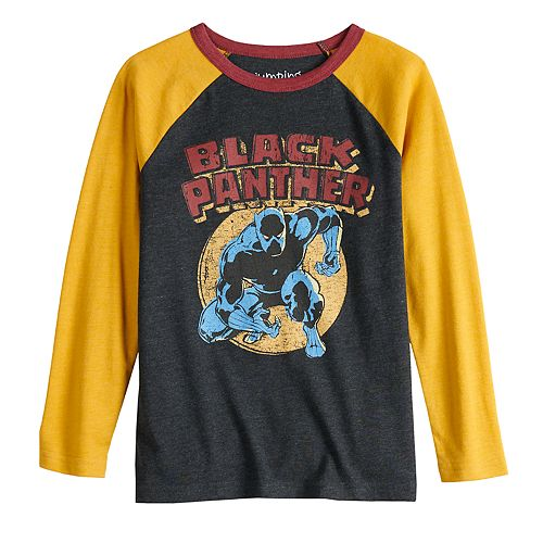 Boys 4-12 Jumping Beans® Marvel Black Panther Raglan Graphic Tee