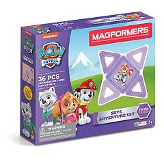 Magformers Paw Patrol 36-piece Skye Adventure Set