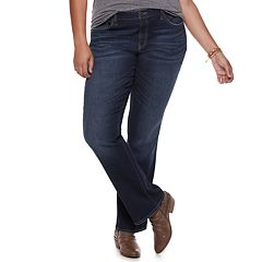 Juniors' Plus Size SO® Low-Rise Bootcut Jeans