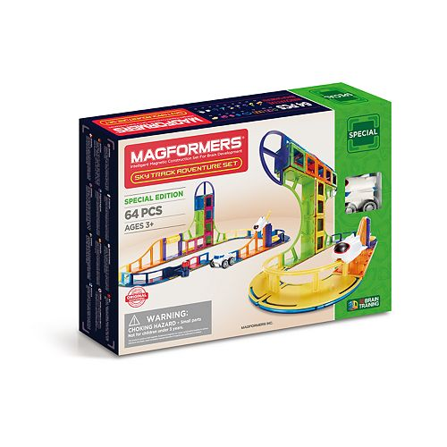 Magformers 64-piece Sky Track Adventure Set