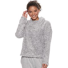 Juniors' SO® Super Soft Cowlneck Top