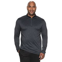 Big   Tall Tek Gear® Stretch Jersey Quarter-Zip Pullover 630624afa